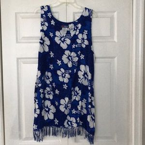 Plus size cover up/dress